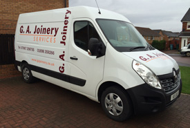 GA Joinery in Lanarkshire